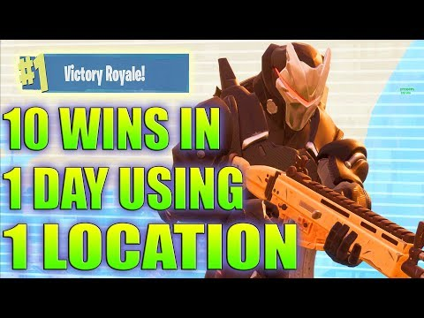 BEST Place To LAND in Fortnite Season 4 For EASY WINS and LOOT (Fortnite How To Win Tips) Daryus P