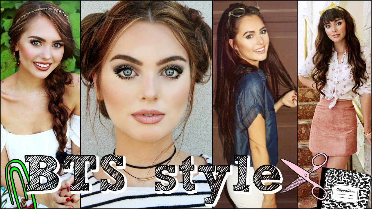 Back To School Hair Makeup Outfits Look Book 2016 Youtube