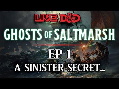 Episode 1   A Sinister Secret...   Ghosts of Saltmarsh