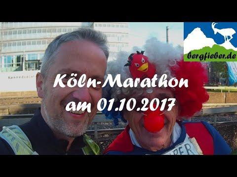 Köln Marathon am 1. Oktober 2017