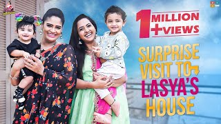 Surprise Visit To Lasya's House || Lasya Interview || BigBoss Season 4 || Itlu Mee Anjalipavan