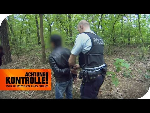 Verfolgungsjagd in Berlin: unerlaubter Zigarettenverkauf! | Achtung Kontrolle | kabel eins