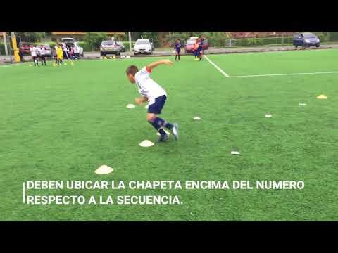 Juego futbol / dinamica / Entrada en calor