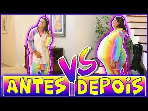 ANTES X DEPOIS DA PASCOA 2