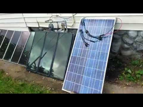 Going Off Grid, Fifth Solar Panel, Solar Cables
