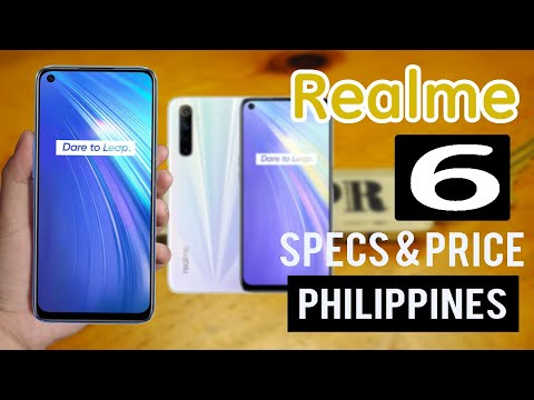 Realme 6 Specs, Features & Price In The Philippines