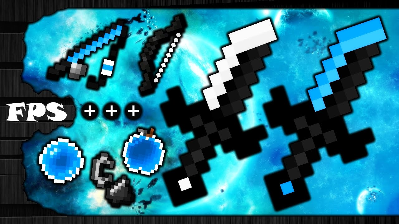 Minecraft Pvp Texture Pack Tryhard Pack Blue Default