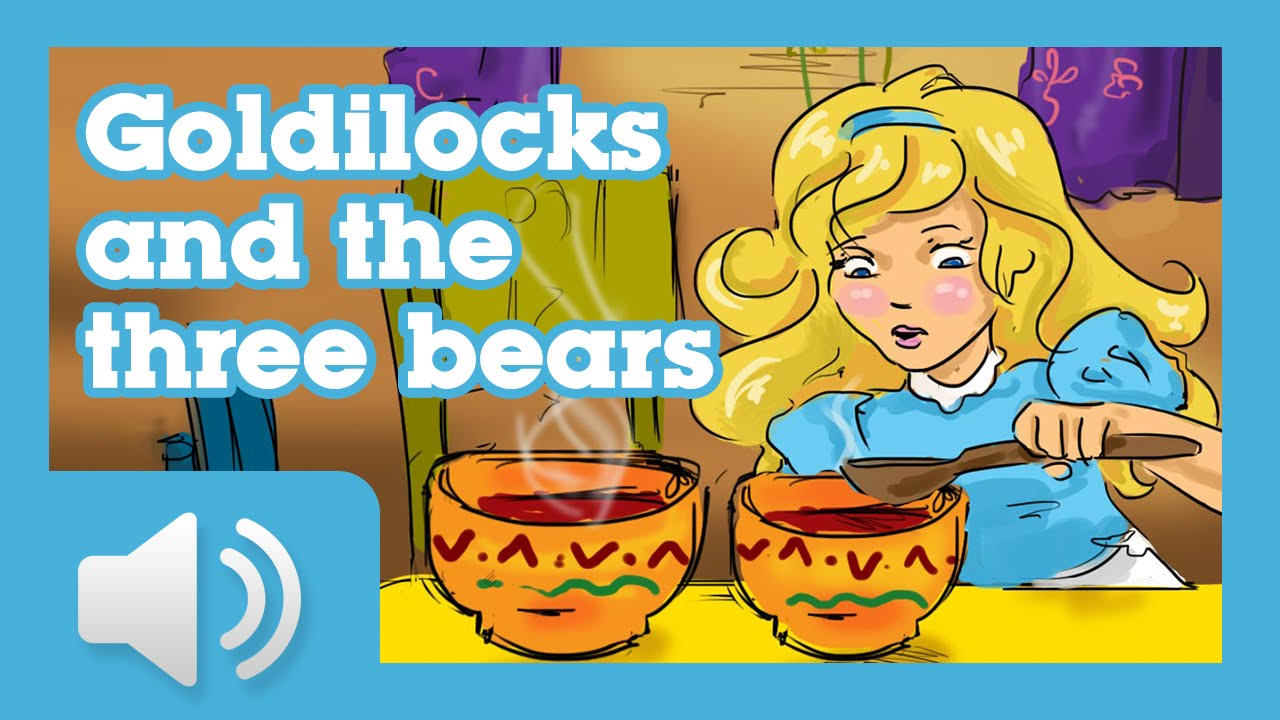 Goldilocks and the Three Bears - Children story - YouTube
