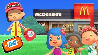 Visita mi MacDonalds en Animal Crossing NEW Horizons Español | Abrelo Game Animal Crossing