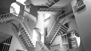 Animación de MC Escher, la Relatividad de los