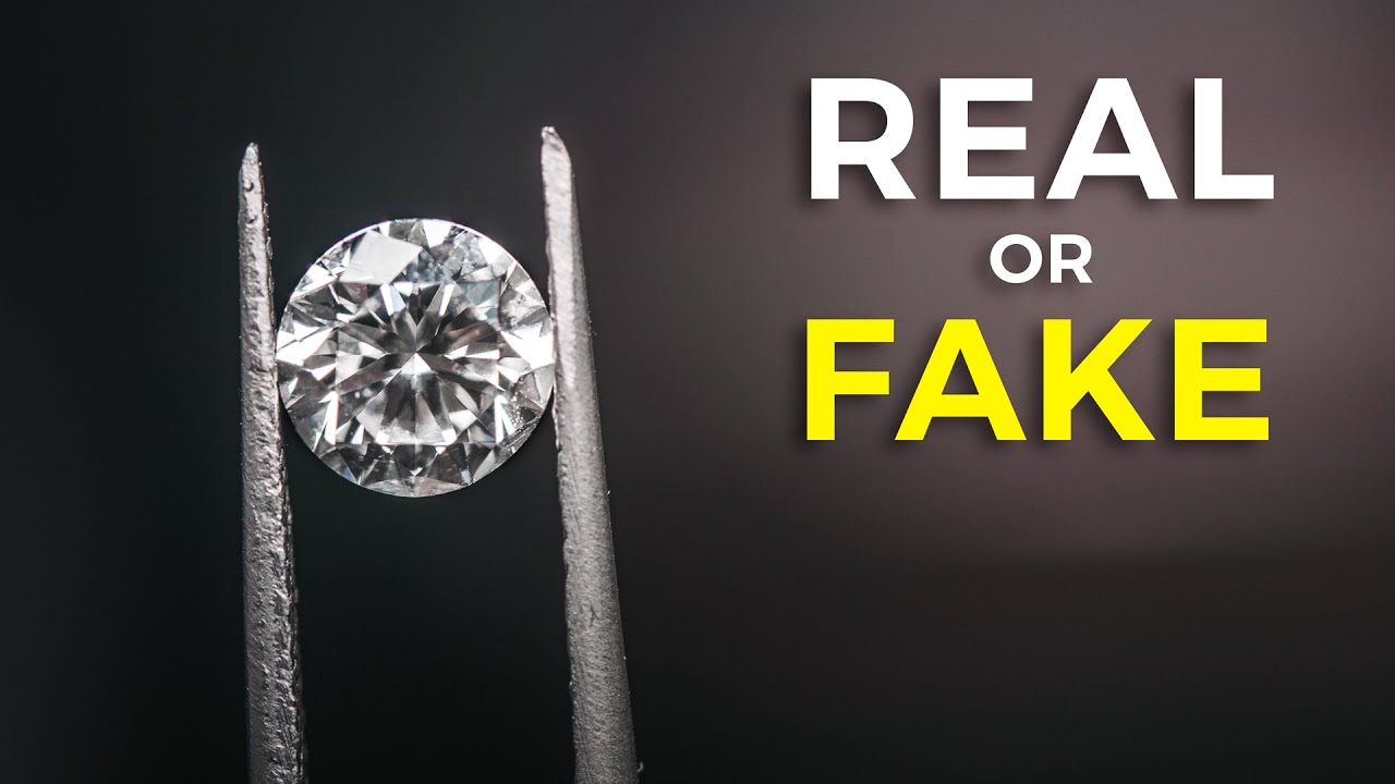 5 Ways To Tell If A Diamond Is Fake Or Real Youtube
