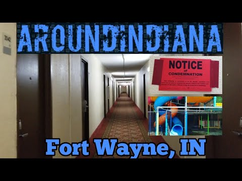Inside A Disgusting Former Holidome Hotel - Suburban Extended Stay Hotel - Fort Wayne, IN