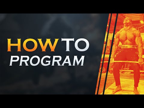 HOW TO PROGRAM FOR POWERLIFTING/BODYBUILDING 100% FREE ! BUILD STRENGTH BY PROGRAMMING !