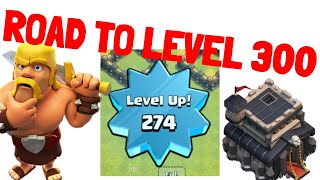 Clash of Clans Pushing to level 300😍🔥[Giveaway] Lets play clash of clans👌🤟 | Req n Leave