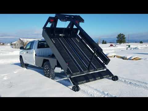 Tufflift hydraulic decks sled deck ATV ,Snowbike,Flatbed