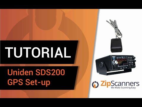 Uniden SDS200 GPS Set-Up | Tutorial