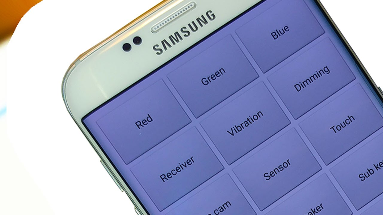 Secret Hidden Menu on Samsung Galaxy S7
