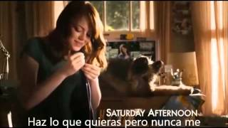 Easy A, pocket full of sunshine sub spanish