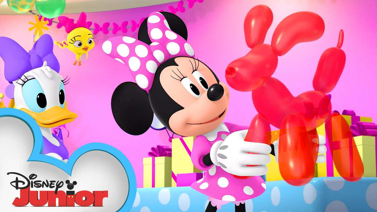 NEW! Boing-Boing, Come Home!   Minnie's Bow-Toons 🎀    @Disney Junior