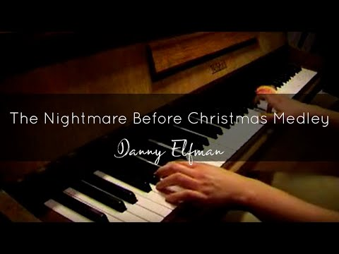 The Nightmare Before Christmas (Danny Elfman) Piano Medley