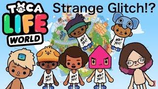 Toca Life World   Strange Glitch!?
