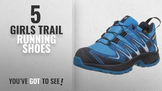 Top 10 Girls Trail Running Shoes [2018]: Salomon Kids XA Pro 3D CSWP Trail Running/Outdoor Shoes,