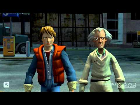 Back to the future - GTA IV (original audio)