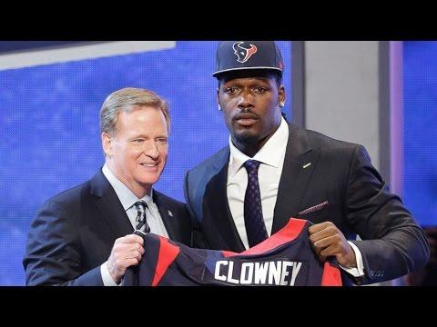 2014 NFL Draft - Jadeveon Clowney Goes 1st Overall to Houston Texans