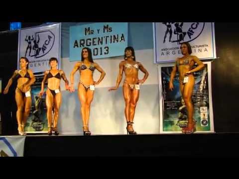 Rosario Fitness Cultural - Categoría Fitness talla única Mr y Ms Argentina 2013 AFCA NABBA