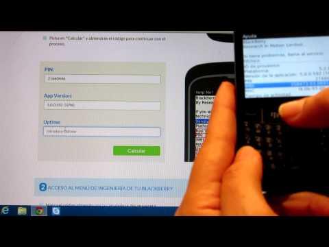 como sacar c u00f3digo mep de un blackberry doovi BlackBerry Bold 9930 BlackBerry Torch 9800