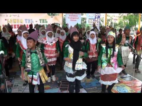 SMP Negeri 9 Surabaya - Lomba Yel Yel Lingkungan Hidup 2013