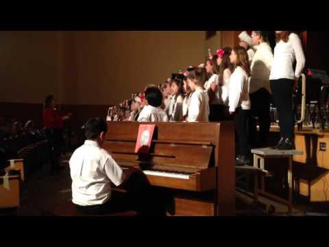 CV Starr Intermediate School 2013 5th Grade Winter Concert featuring Riley Krisch