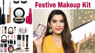 Festive Makeup Kit For Beginners | Step by Step | Super Style Tips