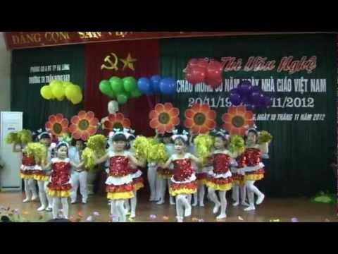 Chắp cánh ước mơ - Lớp 1A7, năm học 2012-2013, Trường Trần Hưng Đạo, Hạ Long