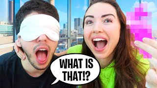 WHAT'S IN MY MOUTH Challenge with Boyfriend!