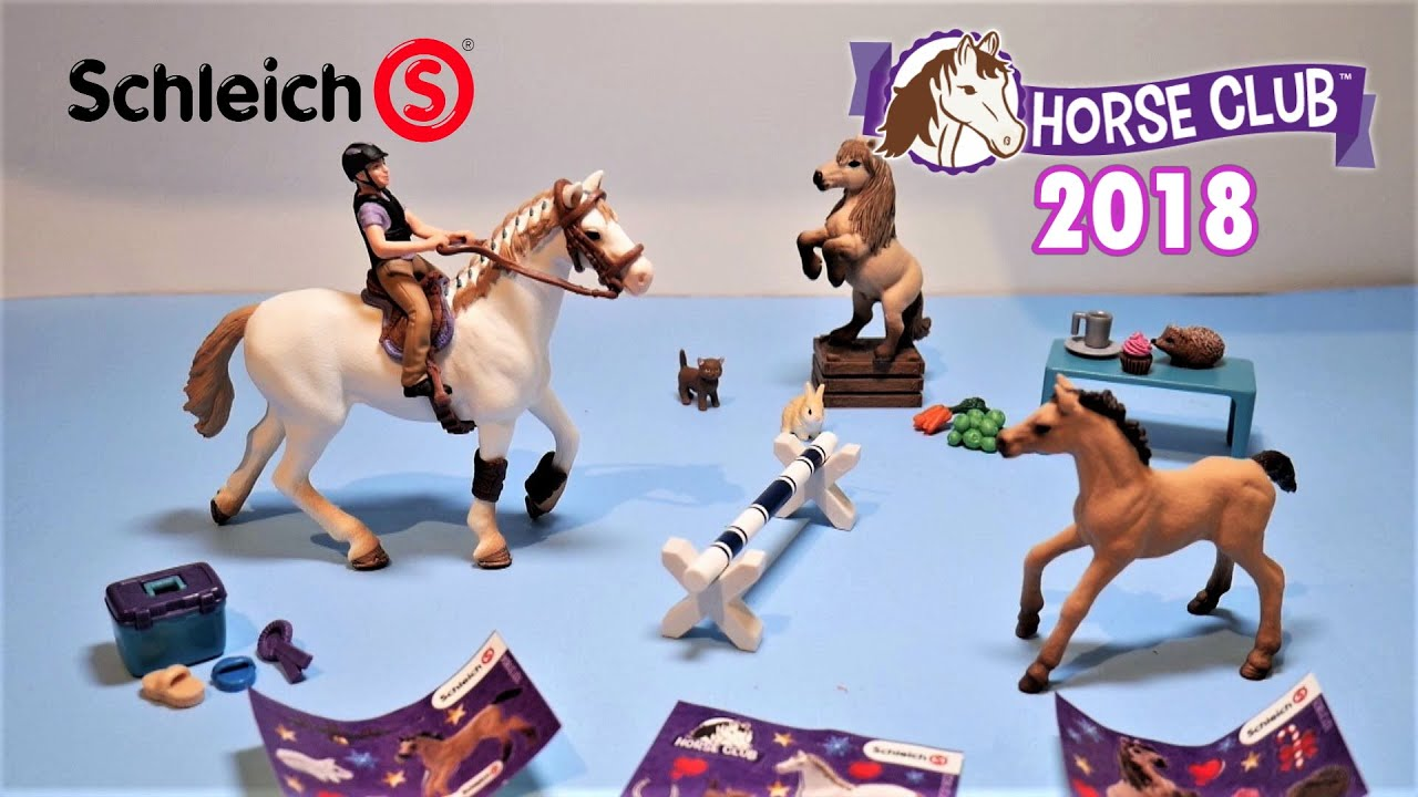 Schleich Horse Club Figure English Thoroughbred Stallion Horse