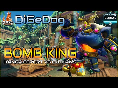 DiGeDog - Bomb King POV | Kanga Esports vs Outlaws | OCE PGS Phase 2 Finals