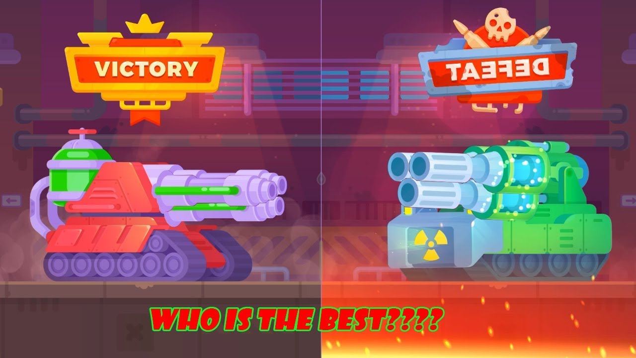 Tanks stars mod apk – TOXIC tank vs ATOMIX Tank – who is the best?  #Smartphone #Android