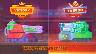 Tanks stars mod apk - TOXIC tank vs ATOMIX Tank - who is the best?