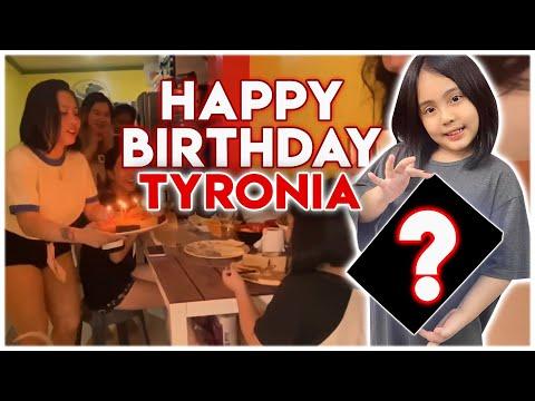 VLOG 069 HAPPY 8th BIRTHDAY TYRONIA | QUARANTINE | BY TONI FOWLER