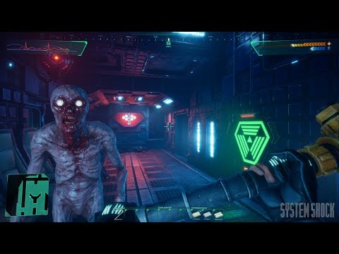 System Shock: Medical Level Full Gameplay - Nightdive Studios