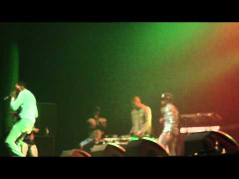 AMSTERDAM REGGAE FEST - Vybz Kartel ft Popcaan - How mi do mi ting/Touch ah button/Hot grabba