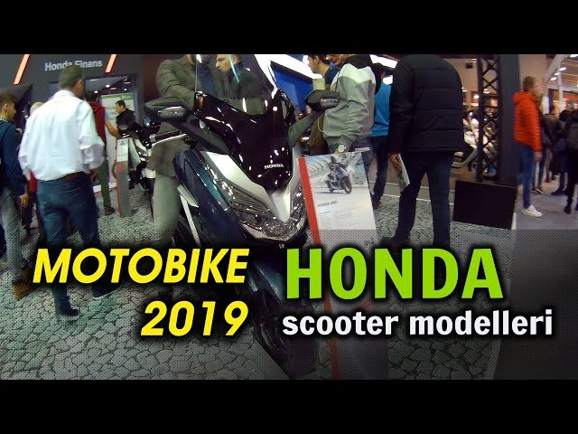 Motobike 2019 / Honda Scooter Modelleri Ve Super Cub