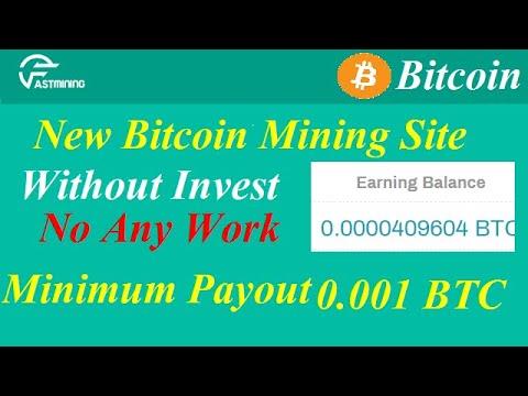 No minimum bitcoin investment