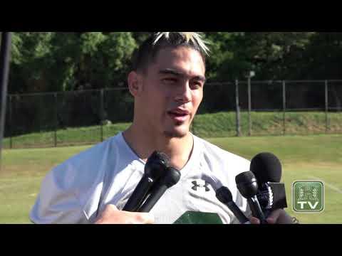 Hawaii Football Game Week Interviews vs. BYU