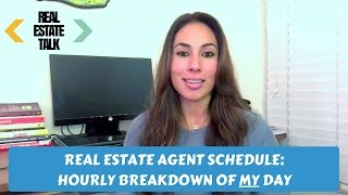 Real Estate Agent Schedule: Hourly Breakdown of MY Day