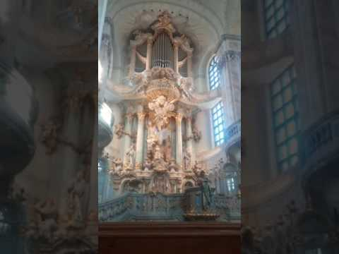 Dresden Frauenkirsche from inside