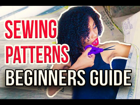 SEWING SERIES | Beginners Guide: How To Prepare, Cut, Lay Out & Mark Your Sewing Patterns!