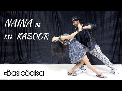 Naina Da Kya Kasoor   Andhadhun   Basic Salsa Routine