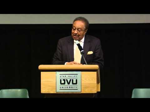 "UVU: Dr. Clarence B. Jones - ""The Dream Turns 50"""